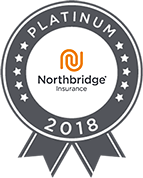Platinum status on Northbridge Insurance - 2018
